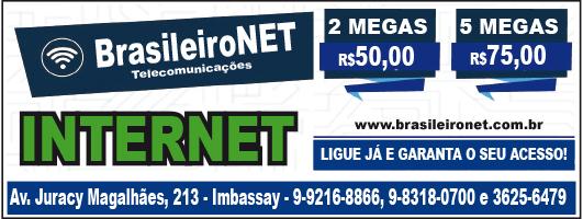Internet é com BrasileiroNet