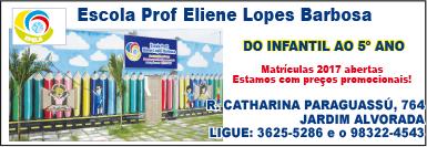ESCOLA PROFª ELIENE LOPES BARBOSA