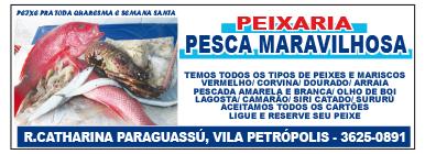 PEIXARIA PESCA MARAVILHOSA