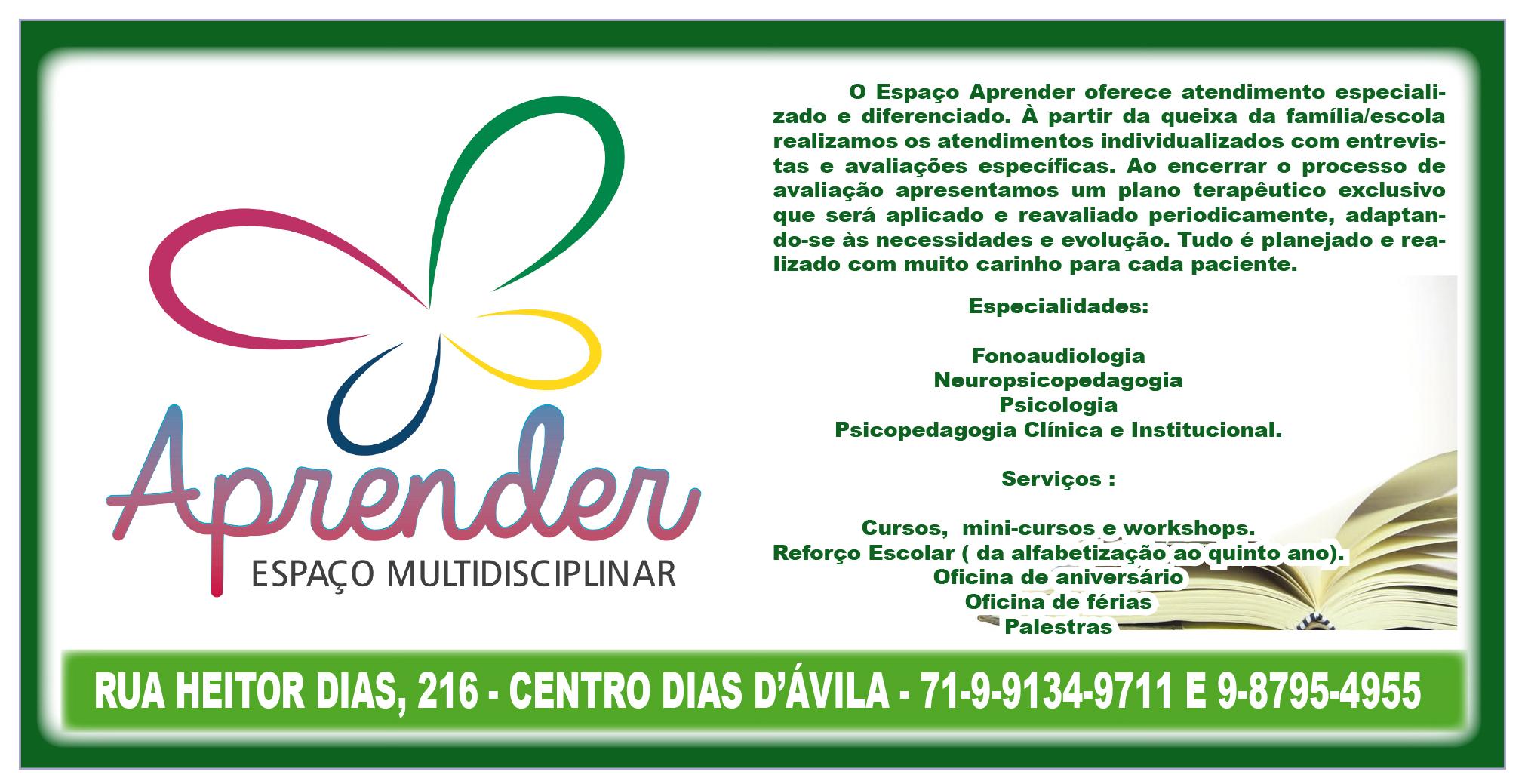 ESPAÇO MULTIDISCIPLINAR APRENDER