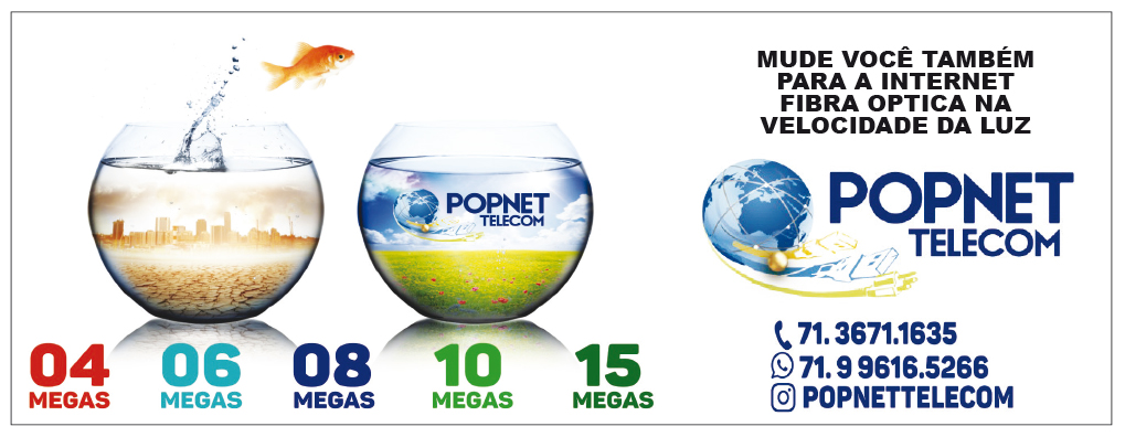 PopNet Telecom – Internet pra você!