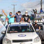 DIAS D'ÁVILA: GERALDO REQUIÃO COMEMORA APOIO DO GOVERNADOR, DEPUTADOS E SENADORES