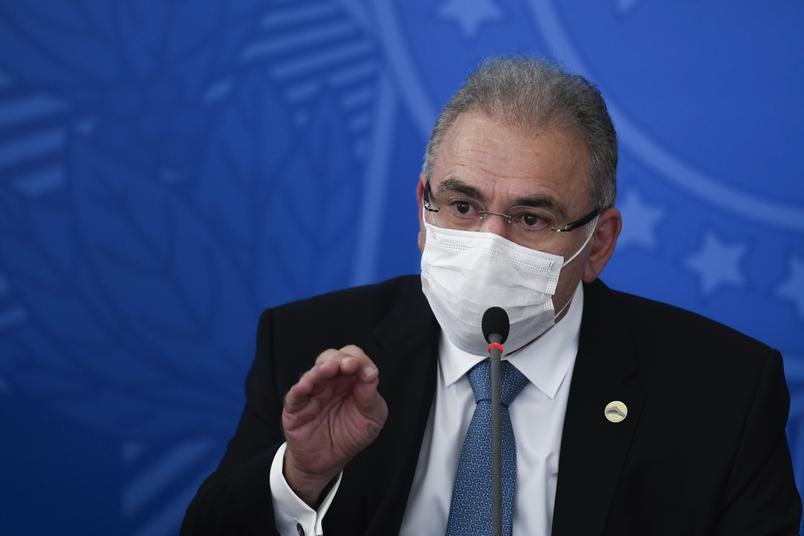 TODOS OS BRASILEIROS MAIORES DE 18 ANOS SERÃO VACINADOS ATÉ DEZEMBRO, AFIRMA MINISTRO DA SAÚDE